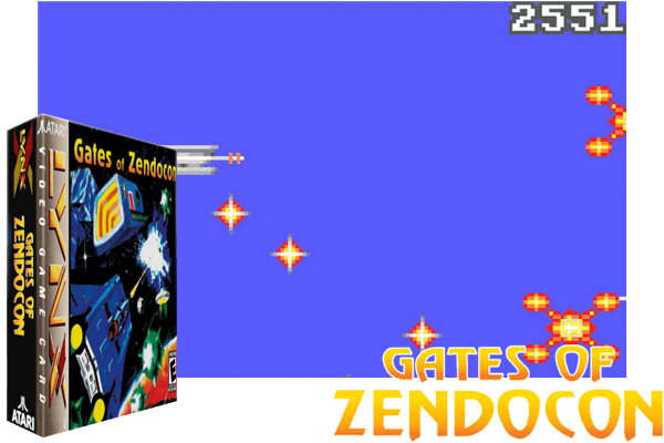 Atari Lynx - Gates of Zendocon